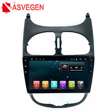 asvegen car stereo radio dvd player for peugeot 206 android 7 1 quad car stereo radio static at Car Stereo Radio