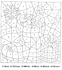 Coloring pages for kids color by numbers or letters. Christmas Color By Number Printables Coloring Rocks