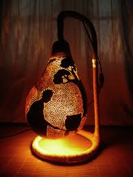 Gourd Lights Led Lights Solar Energy Classes Our Sun Bamboo Strips And Terra