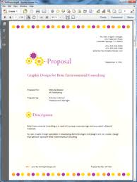 design proposal layout graphic design proposal sample fees and finance well nor