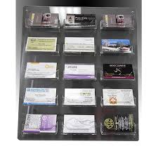 Business Cards Display Stands New Clear Acrylic Wall Mounted Sign Holder 32 Business Card Holders