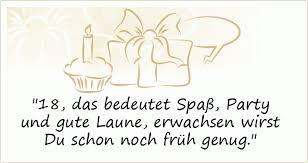 18 Geburtstag Coole Spruche