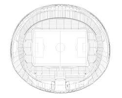 Stadium Planning Design Gallery Of Hazza Bin Zayed Stadium Pattern Design 13