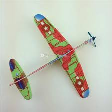 2017 new children brain game toys glider model diy hand throws aircraft model for baby toys c2041 vintage model airplanes build model planes from angela918