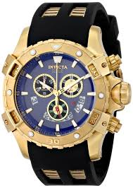 men gold watches invicta men s 15856 specialty analog display gold watches for men invicta