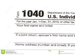 1040 Chart 1040 1120 1065 Us Tax Form Taxation Concept Editorial