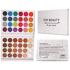 beauty glazed 48 colors eyeshadow palette shine matte makeup eye shadow glitter pigmented eyeshadow waterproof