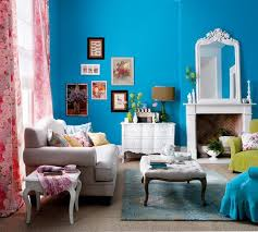 colorful living room ideas. Bright Blue Living Room Colorful Ideas B