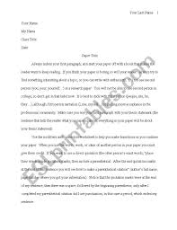 English Worksheets Mla Paper Format With Parenthetical Citation