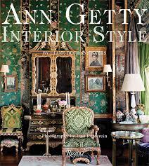 ann getty interior style book
