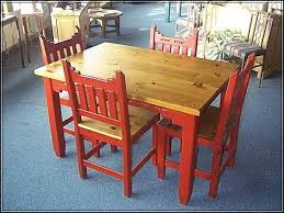 mexican painted furnitureDining Chairs  Enchanting Mexican Pine Dining Set Wooden Dining