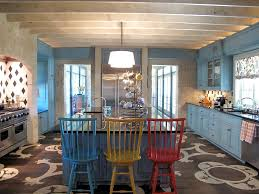 painted blue kitchen cabinets house:  images about kitchen on pinterest how to paint bright paintings and painted kitchen cabinets