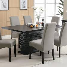 contemporary dining room sets with bench. Modren Dining Stanton Contemporary Dining Table By Coaster Furniture For Room Sets With Bench A