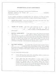Generic Residential Lease Agreement Cool House Lease Template Lopar
