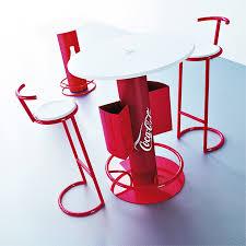 key company posm tables chairs coca cola