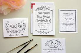 how to diy wedding invitations a practical wedding we're your Wedding Invitations Design Own white wedding invitations with black type wedding invitation design online