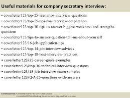 top company secretary cover letter samples 13 useful materials for company secretary