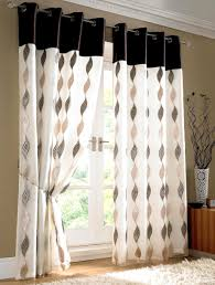 Cute Luxuriant Black And White Bedroom Curtains Ains Black And White ...