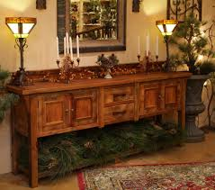 Rustic Kitchen Sideboard Reclaimed Wood Sideboard Dining Room Eclectic With Antique Wood