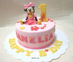 1 Year Old Baby Girl Birthday Cake Ideas A Birthday Cake