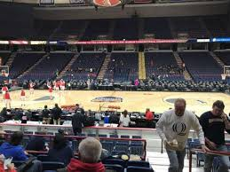 Times Union Center Seating Chart Basketball Times Union Center Section 105 Row F Home Of Siena Saints