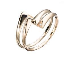 Minimalist Design Rings Minimalist Matching Rings Set 14k Yellow Gold Ring Set