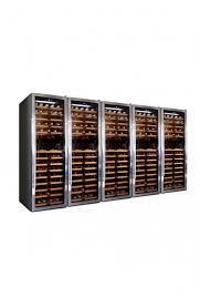 Weinkühlschrank 850 Flaschen5 Zonen Klimatisiert Professioneller Kompressor Maβe H1740 X B2975 X T690 Mm Kg 410 Dtn Ecommerce Group Srl