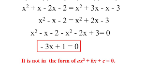 cbse class 10 maths chapter 4 part 1 quadratic equation