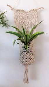macrame plant hanger boho decor