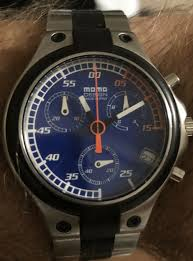 Momo Design Md 014 Momo Design Speed Chronograph Watch Md 014 Blue Made In Italy