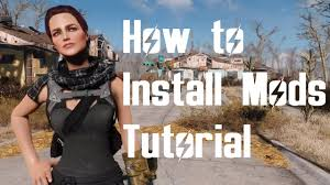 How to manually install fallout 4 mods