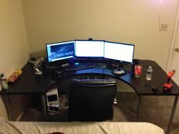 desk gaming ikea regarding stylish amp room setup best gaming desk ikea paragon gaming desk