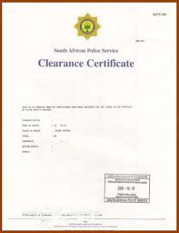 Clearance Certificate Sample 6 Clearance Certificate Templates Free Printable Word