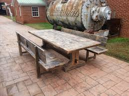 rustic wood outdoor dining table enchanting wood patio table designs wooden outdoor p on patio furniture