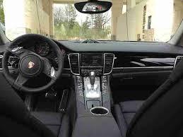 porsche panamera black interior. 2013 porsche panamera v6 platinum beautiful carbon gray with black interior