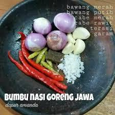 Satu sendok teh air jeruk limau; Aneka Resep Bumbu Masakan Indonesia Save Resep Tradisional Facebook
