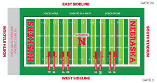 Nebraska Cornhuskers Stadium Seating Chart Everything You Need To Know Before Attending Husker Fan Day