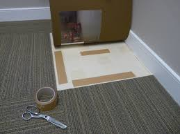 carpet tiles love chunky we lay down x carpet tiles using a quarterturn installation method bas