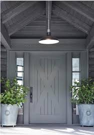 A Different Type of Luxury  A Striking Gray Color Front Door
