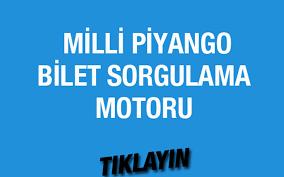 Milli Piyango bilet sorgulama 9 Nisan 2016 çekilişi - Internet Haber
