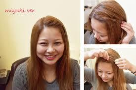 可愛いねじり前髪のやり方美容師が教える3分ヘアアレンジ美容室