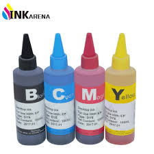 Universal <b>4 Color Dye Ink</b> For epson 100ML ink refill kit for epson ...