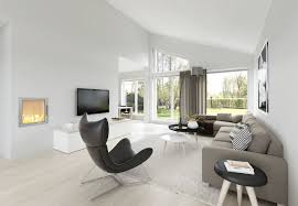 Living Room Interior Spacious Modern Living Room Interiors
