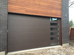 Fine Modern Garage Doors Fiberglass Doorsmodern Installed In And Models Design
