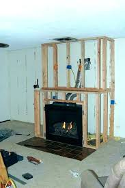 build a fireplace build in fireplace build fireplace hearth raised build electric fireplace surround