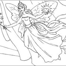Free Printable Coloring Pages For Adults Fairies Coloring Online