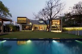 complex residence in india with a jaw dropping modern design