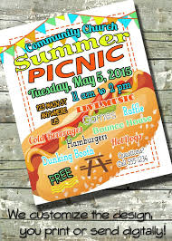 Picnic Flyers Church Block Party Flyer Template Nonstopriot Com