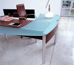 glass top office furniture new on modern glass office desk modern