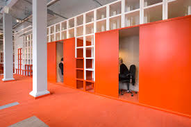 office orange. Industrial Office Design Orange N